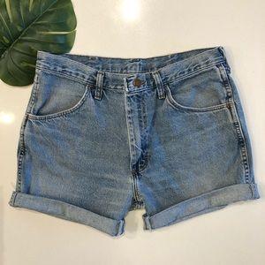 Rustler by Wrangler Cut-Off Denim Shorts